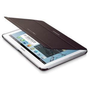 Samsung Galaxy Tab 2 10.1 P5100 barna műanyag book cover flip tok gyári