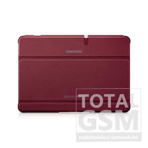Samsung Galaxy Tab 2 10.1 P5100 piros műanyag book cover flip tok gyári