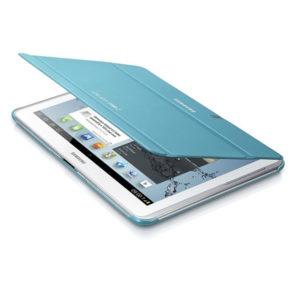 Samsung Galaxy Tab 2 10.1 P5100 világoskék műanyag book cover flip tok gyári