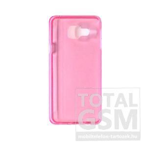 Samsung Galaxy A3 (2016) SM-A310 pink vékony szilikon tok