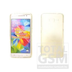 Samsung Galaxy Grand Prime SM-G530H átlátszó vékony szilikon tok