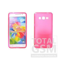 Samsung Galaxy Grand Prime SM-G530H pink vékony szilikon tok