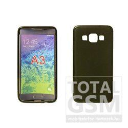 Samsung Galaxy J1 SM-J100 fekete vékony szilikon tok