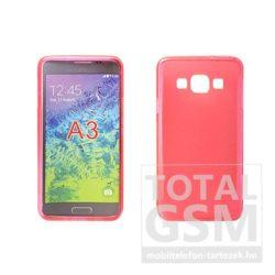 Samsung Galaxy J1 SM-J100 pink vékony szilikon tok