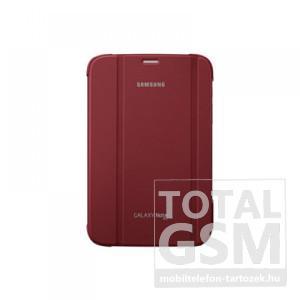 Samsung Galaxy Note 8.0 GT-N5100 piros book cover flip tok