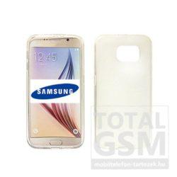 Samsung Galaxy S6 Edge Plus SM-G928 átlátszó vékony szilikon tok