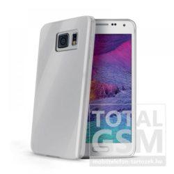 Samsung Galaxy S6 Edge SM-G925 átlátszó vékony szilikon tok