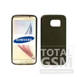 Samsung Galaxy S6 Edge SM-G925 fekete vékony szilikon tok
