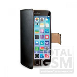 Samsung Galaxy S6 SM-G920 oldalra nyíló fekete book cover flip tok