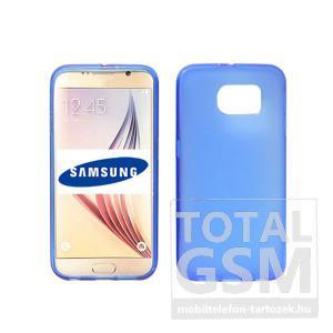 Samsung Galaxy S7 SM-G930 kék vékony szilikon tok