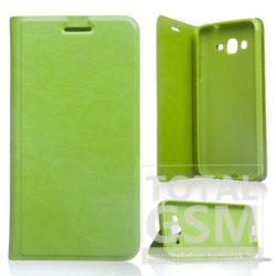 LG G4C Mini zöld notesz TPU-bőr flip tok