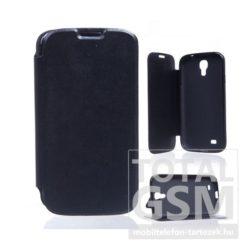 LG G4C Mini fekete notesz TPU-bőr flip tok