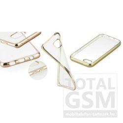 Apple iPhone 6 4.7 / 6S 4.7 arany Electro Jelly extraslim szilikon tok