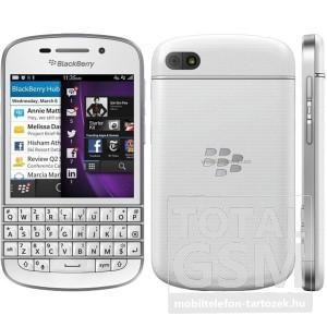 Blackberry Q10 4G 16GB fehér mobiltelefon