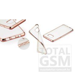 Samsung Galaxy A3 (2016) SM-A310 Rose-Gold Electro Jelly extraslim szilikon tok