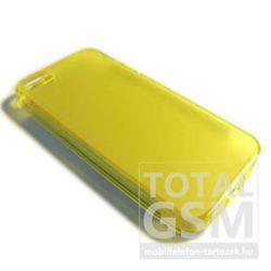 Samsung Galaxy Mini GT-S5570 citromsárga szilikon tok TPU