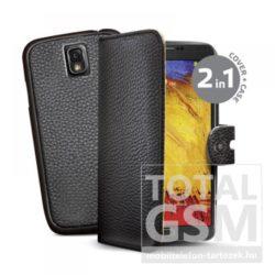 Samsung Galaxy Note 3 SM-N9000 oldalra nyíló fekete cover flip tok