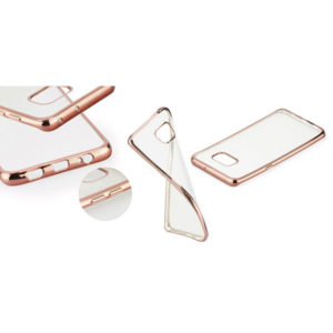 Samsung Galaxy S6 Edge Plus SM-G928 Rose-Gold Electro Jelly extraslim szilikon tok