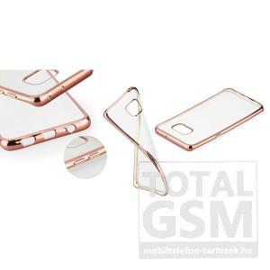 Samsung Galaxy S6 Edge SM-G925 Rose-Gold Electro Jelly extraslim szilikon tok