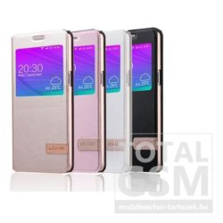 Samsung Galaxy S7 Edge SM-G935 fekete ablakos USAMS MUGE notesz flip tok