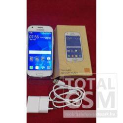 Samsung G357F Galaxy Ace 4 fehér mobiltelefon