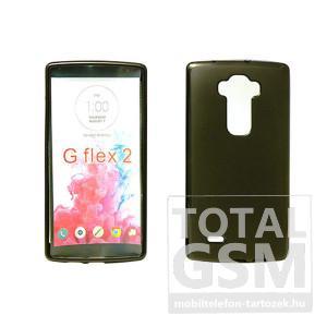 LG G Flex 2 H955 fekete vékony szilikon tok
