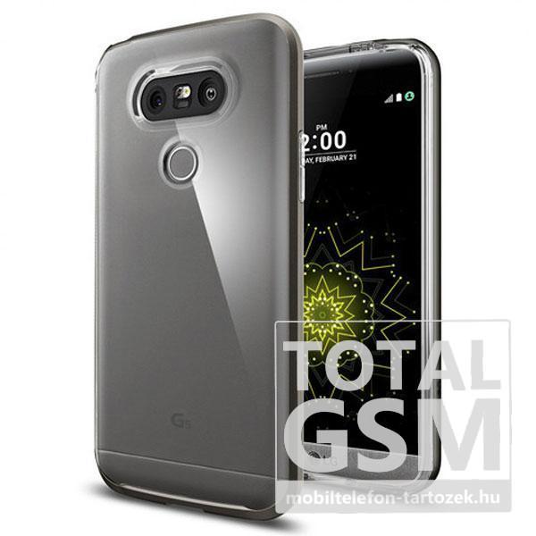 LG G5 H850 fekete vékony szilikon tok