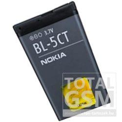 Nokia 6303 Classic / 3720 Classic BL-5CT 1050mAh Li-ion gyári akkumulátor használt