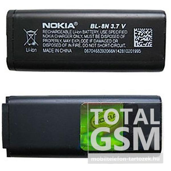 Nokia 7280 / 7380 BL-8N 650mAh Li-ion gyári akkumulátor ...