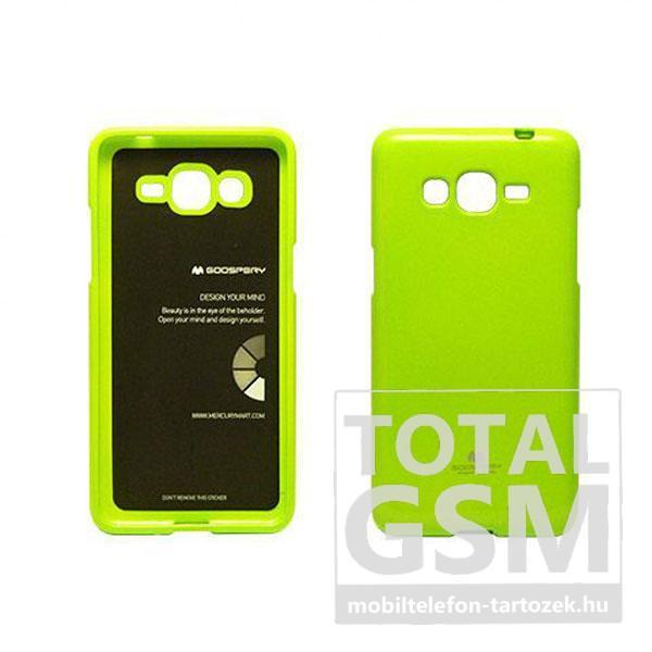 Samsung Galaxy S5 Mini Sm G800 Zold Szilikon Tok Jelly