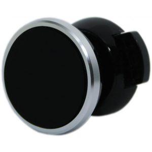 Mágneses autós tartó ezüst-fekete