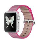 Apple Watch 38mm alumínium tok rózsaszín szőtt műanyag szíjjal okosóra
