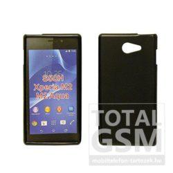 Sony Xperia P LT22i fekete szilikon tok