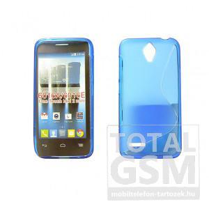Vodafone Smart First 6 kék vékony szilikon tok