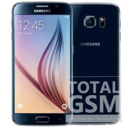 Samsung SM-G920F Galaxy S6 32GB fekete mobiltelefon