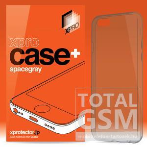 Apple iPhone 6 / 6S XPRO Case + Pro füst-szürke szilikon tok ultra vékony 0.33mm