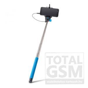 Selfie bot Forever (100cm hosszú nyél, távkioldó,360°-ban forgatható) kék