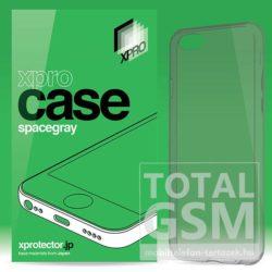 Samsung Galaxy S4 GT-I9500 / GT-I9505 XPRO Case füst-szürke szilikon tok ultra vékony 0.33mm
