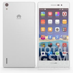 Huawei P7 L10 fehér mobiltelefon