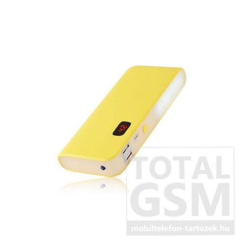 Astrum PB140 sárga Power Bank 10400MAH 2A, beépített nagyteljesítményű zseblámpával