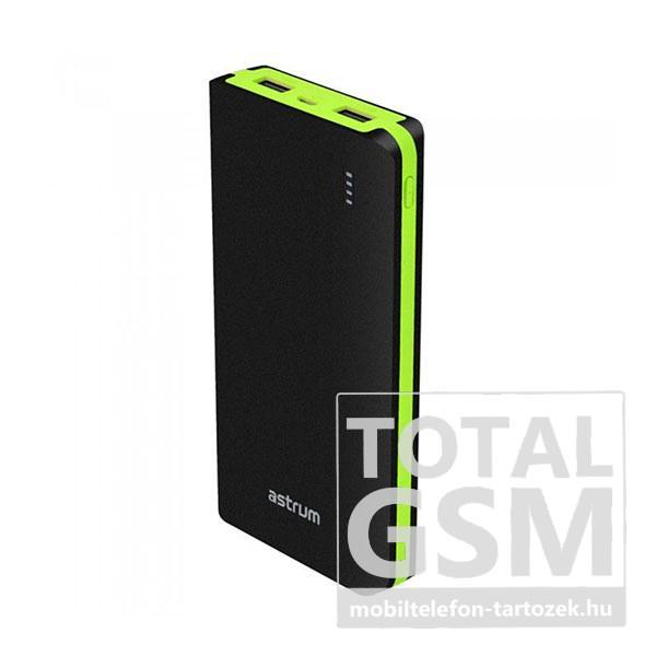 Astrum PB200 fekete Power Bank 20000mAh 1USB 2A