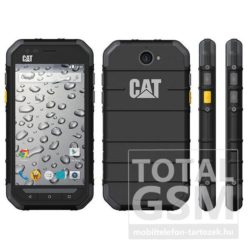 Caterpillar S30 Dual Sim fekete mobiltelefon