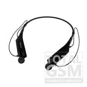 Astrum ET230 univerzális fekete CSR bluetooth 4.0 SPORT nyak köré fonódó sztereo multipoint headset mikrofonnal A10523-B