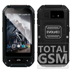 Evolveo Strongphone Q5 Dual fekete mobiltelefon
