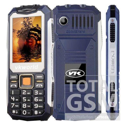 Vkworld V3S Dual Sim kék mobiltelefon