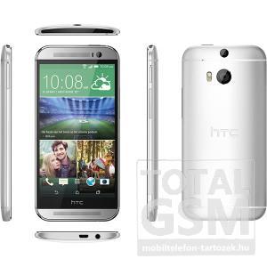 HTC One M8 ezüst mobiltelefon