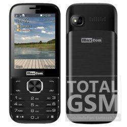 Maxcom MM237 Dual Sim fekete mobiltelefon