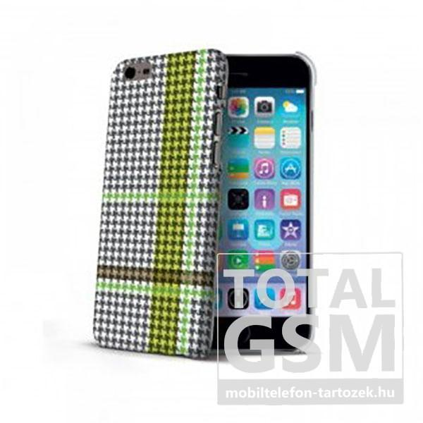 Apple-iPhone-6-6s-Fekete-Zöld-Celly-Kockás-Mintás-Hátlapi-Kemény-Tok-(Cell)1