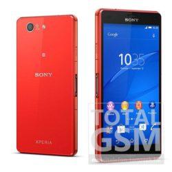 Sony D5803 Xperia Z3 Compact narancssárga mobiltelefon