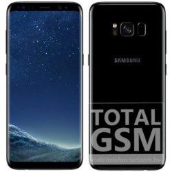 Samsung G950F Galaxy S8 LTE (64GB) fekete mobiltelefon